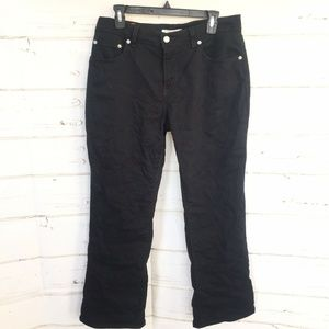 Levi's womens 550 Relaxed Boot Cut Jeans Black Str